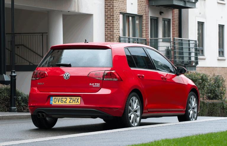2012 Volkswagen Golf ( VII ) TDI BlueMotion - UK version 371013