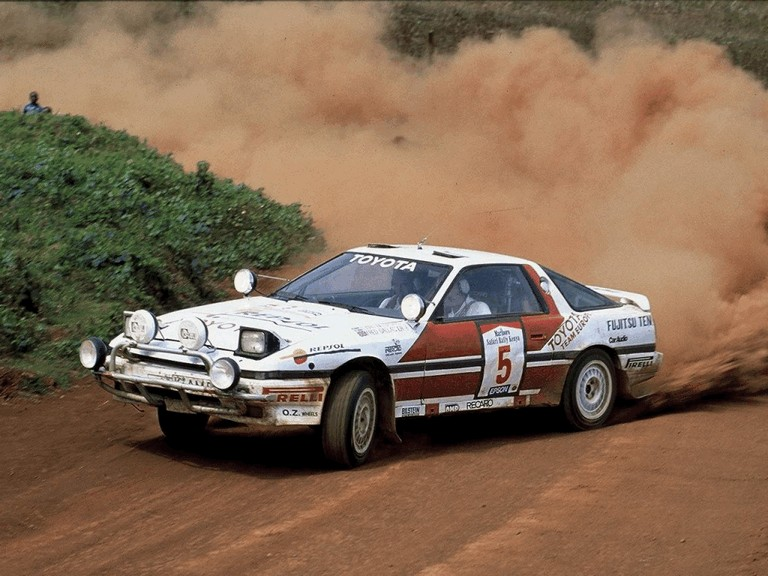 1987 Toyota Supra Liftback ( A70 ) Safari rally 371103