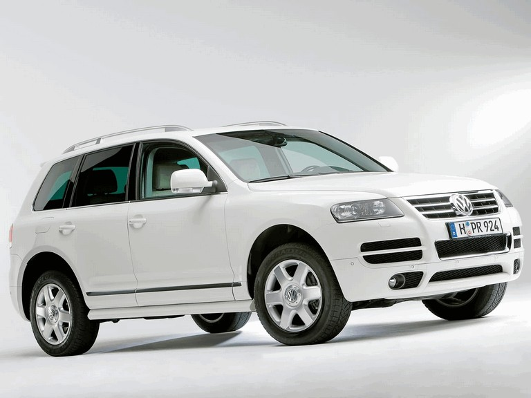 2006 Volkswagen Touareg in candy white 216311