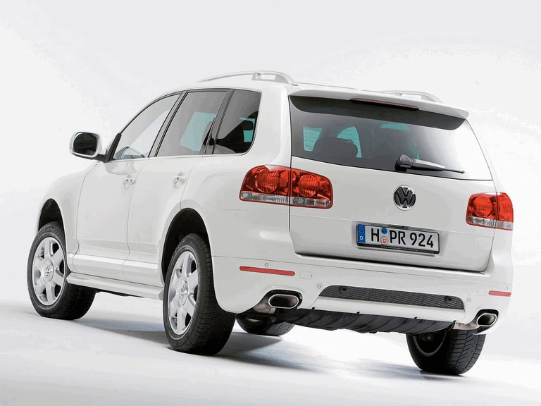 2006 Volkswagen Touareg in candy white 216312