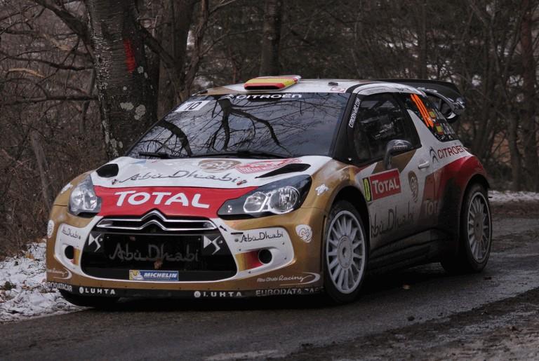 Znalezione obrazy dla zapytania Citroen DS 3 Rally 2013
