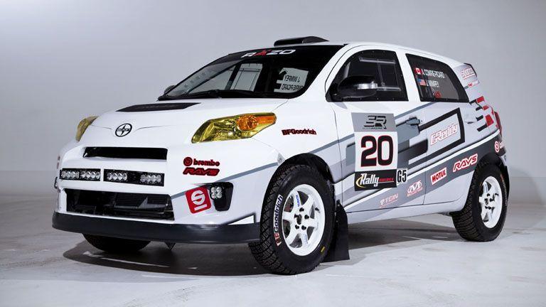 2017 Scion Xd Rally