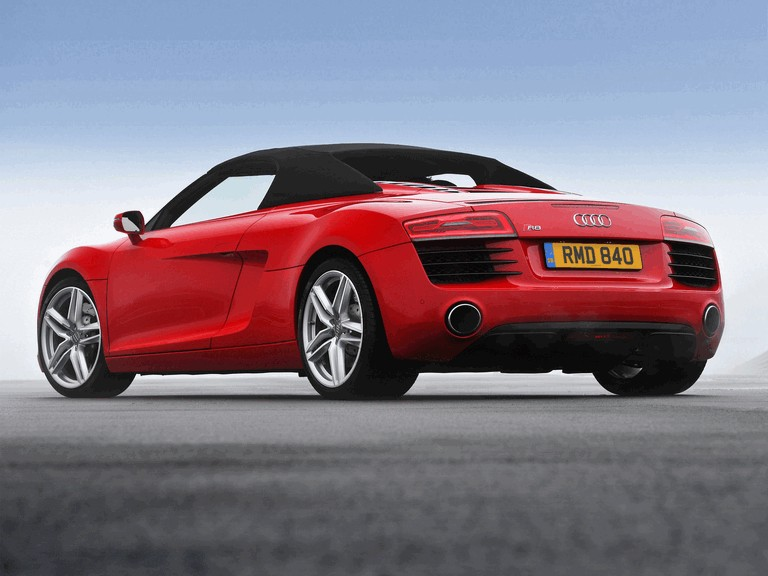 2013 Audi R8 spyder - UK version 373467