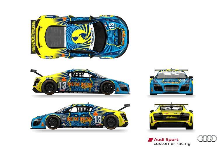 2013 Audi R8 Grand-Am - 24 hour at Daytona 373684