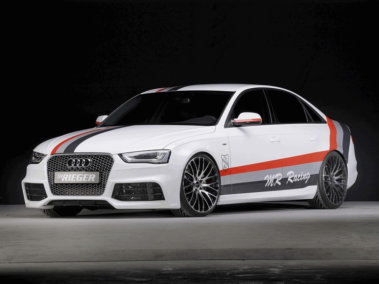 2013 Audi A4 ( B8 ) by Rieger 374086