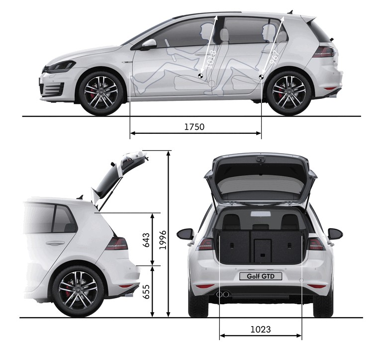 2013 Volkswagen Golf ( VII ) GTD 386797