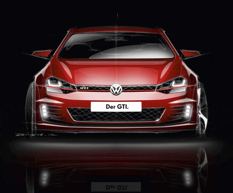 2013 Volkswagen Golf ( VII ) GTI 384037