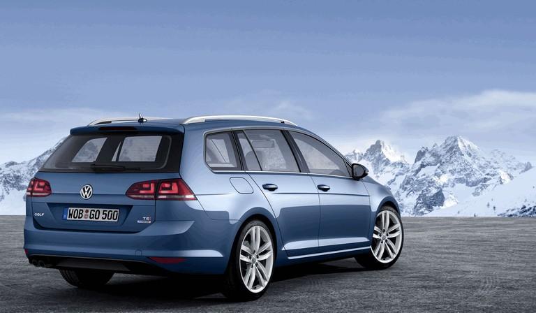 2013 Volkswagen Golf ( VII ) Variant TSI BlueMotion 377231