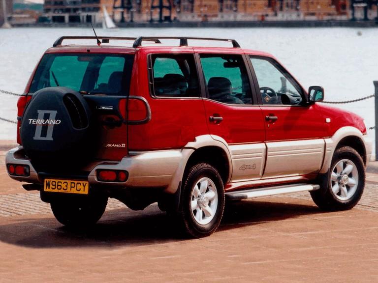 1999 nissan terrano ii ( r20 ) 5-door - uk version #378253
