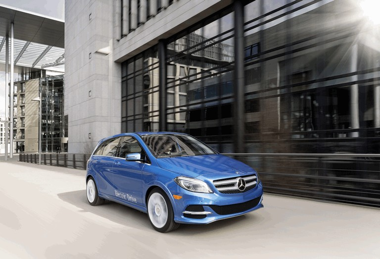 2013 Mercedes Benz B Klasse W246 Electric Drive Free High Resolution Car Images