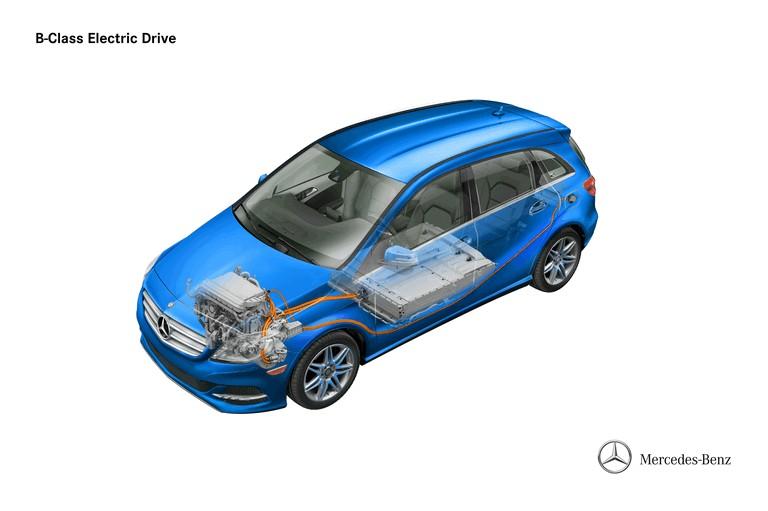 2013 Mercedes-Benz B-klasse ( W246 ) Electric Drive 379549