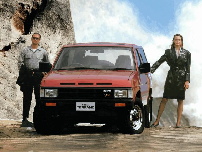 1987 Nissan Terrano ( R3M WBYD21 ) 2-door 380833