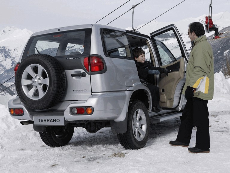 1999 Nissan Terrano II ( R20 ) 5-door 381012