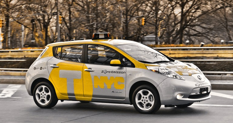 2013 Nissan Leaf - New York City Taxi 382558