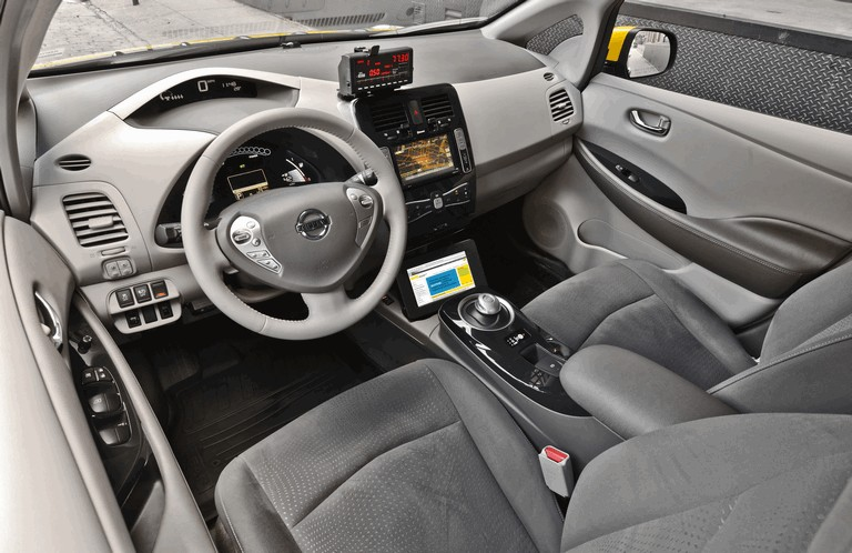 2013 Nissan Leaf - New York City Taxi 382567