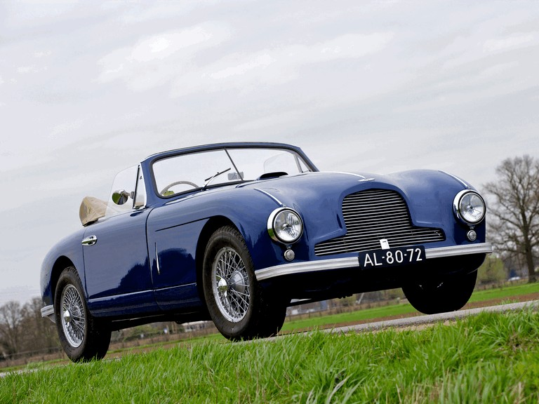 1951 aston martin db2 vantage drophead coupé - free high resolution