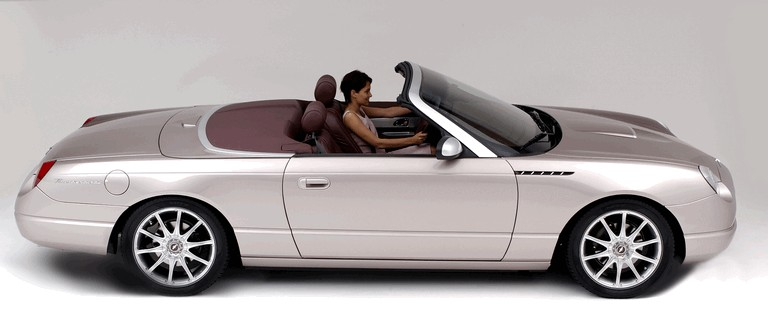 2003 Ford Thunderbird Retractable Glass Roof by Valmet 384607