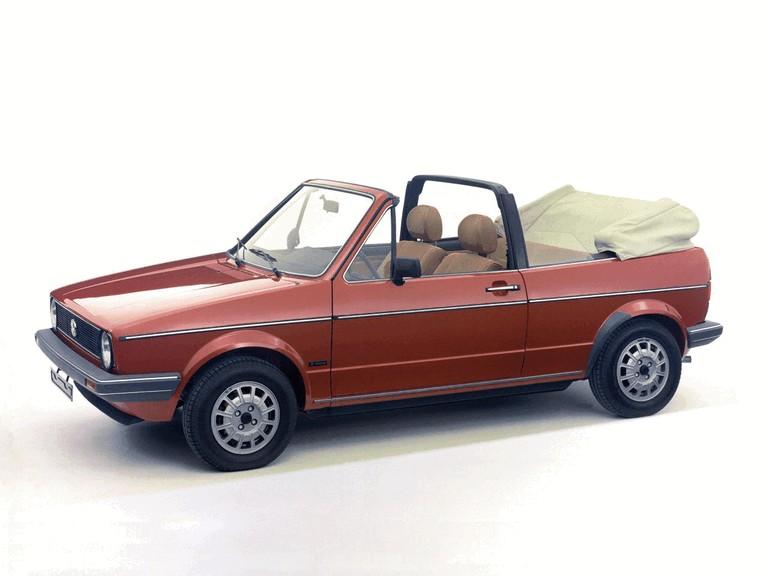 1979 Volkswagen Golf ( I ) cabriolet 386321