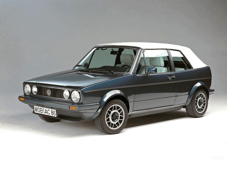 1979 Volkswagen Golf ( I ) cabriolet 386324