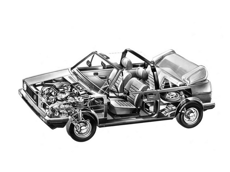 1979 Volkswagen Golf ( I ) cabriolet 386329