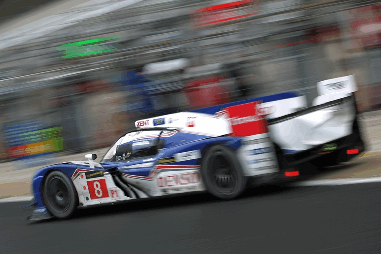 2013 Toyota TS030 Hybrid - Le Mans 24 Hours test day 387865