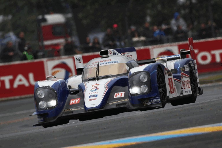 2013 Toyota TS030 Hybrid - Le Mans 24 Hours test day 387873
