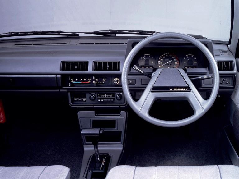1981 Nissan Sunny ( B11 ) sedan 1.5 SGL 388385