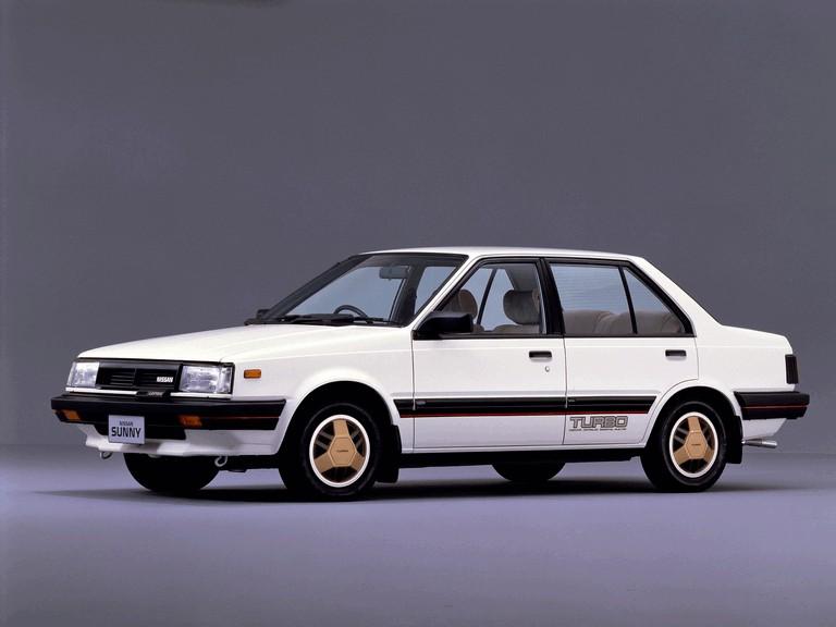 1982 Nissan Sunny ( B11 ) Turbo Leprix sedan 388386