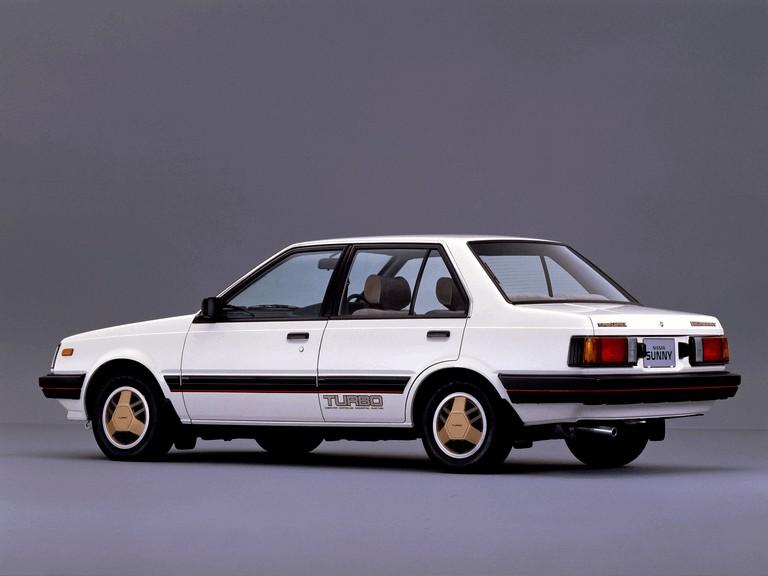 1982 Nissan Sunny ( B11 ) Turbo Leprix sedan 388387