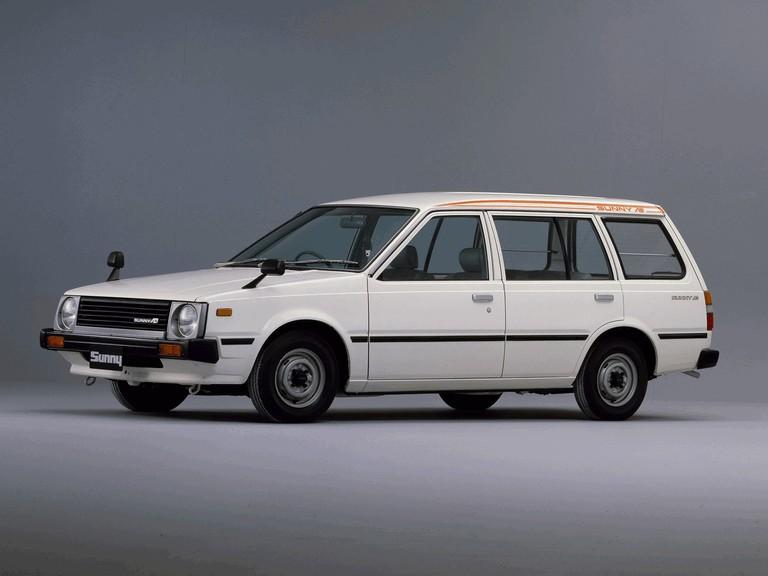 1982 Nissan Sunny ( VB11 ) Ad Van 388394