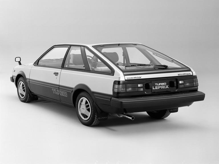 1983 Nissan Sunny ( B11 ) Turbo Leprix coupé 388406