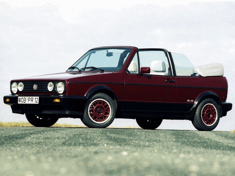 1990 Volkswagen Golf ( I ) cabriolet Bel Air 389366
