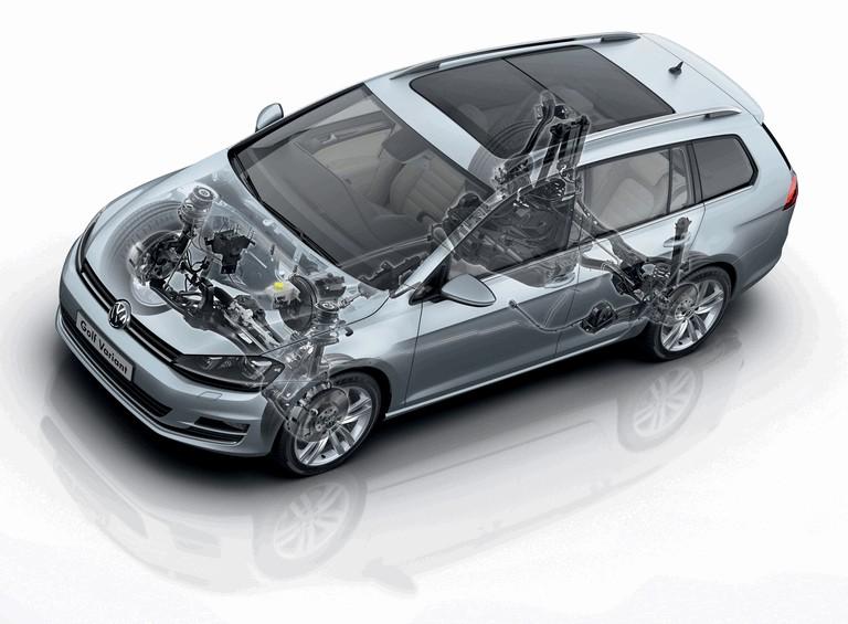 2013 Volkswagen Golf ( VII ) Variant 389536