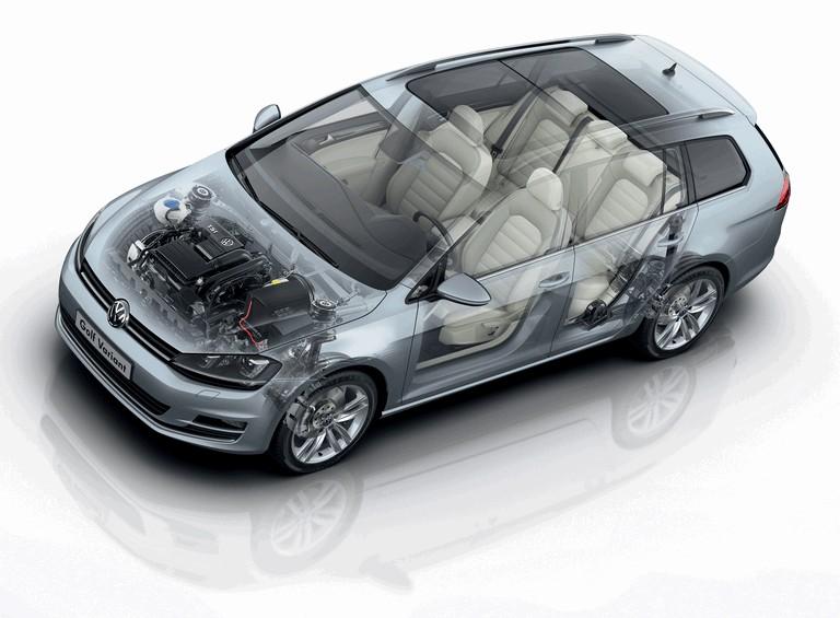 2013 Volkswagen Golf ( VII ) Variant 389537