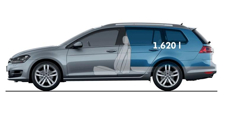 2013 Volkswagen Golf ( VII ) Variant 389546