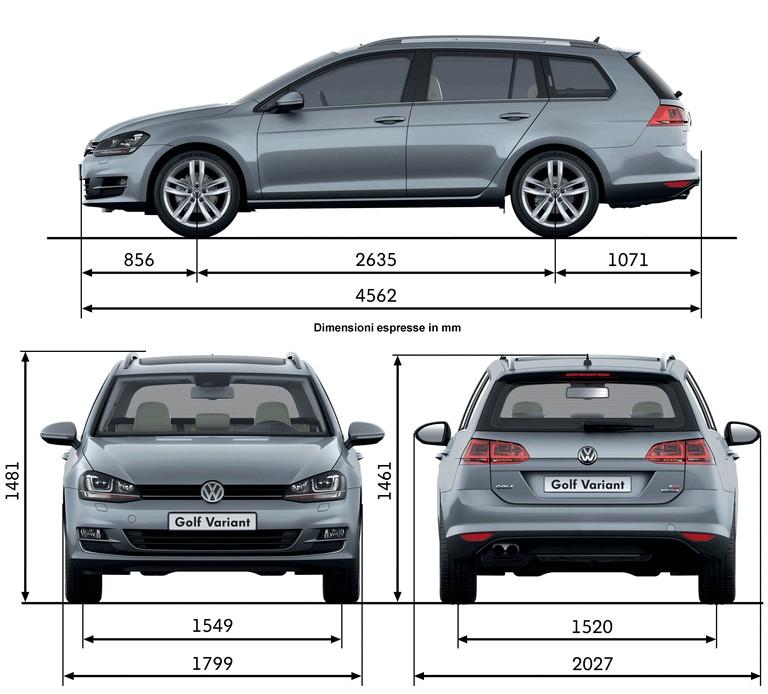 2013 Volkswagen Golf ( VII ) Variant 389548