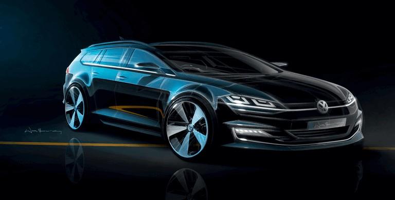 2013 Volkswagen Golf ( VII ) Variant 389552