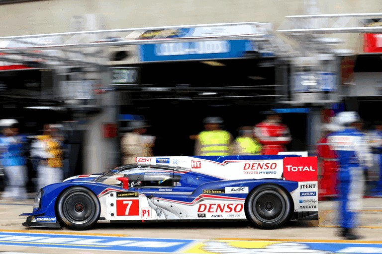 2013 Toyota TS030 Hybrid - Le Mans 24 Hours practice 389898