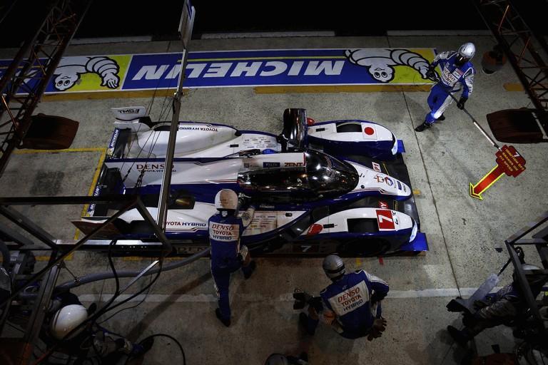 2013 Toyota TS030 Hybrid - Le Mans 24 Hours qualifying 389911