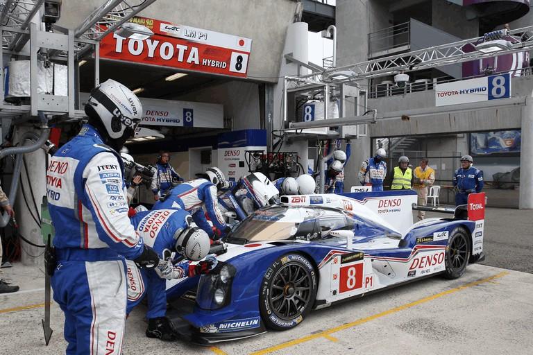 2013 Toyota TS030 Hybrid - Le Mans 24 Hours race 389927