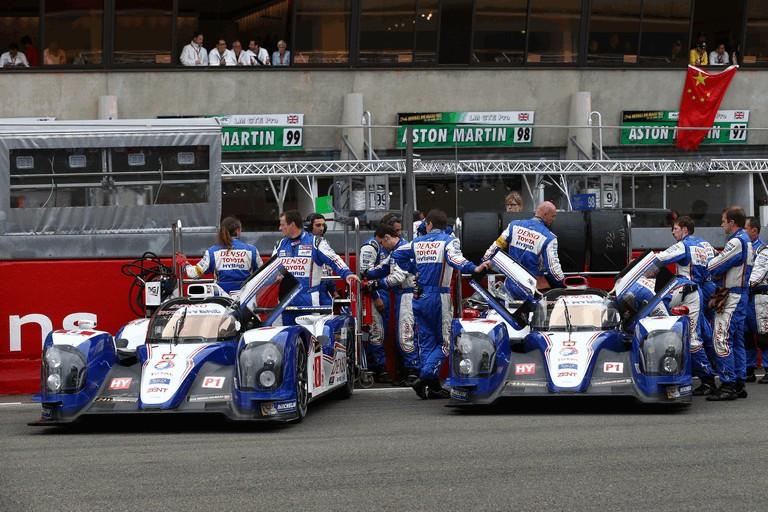 2013 Toyota TS030 Hybrid - Le Mans 24 Hours race 389928