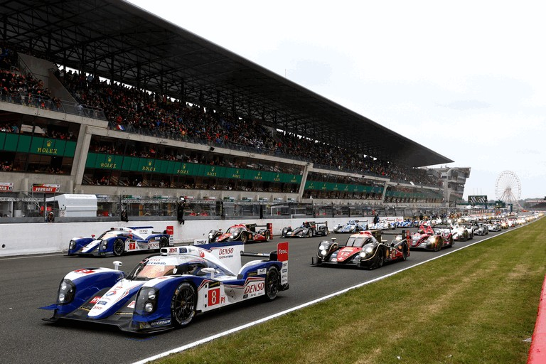 2013 Toyota TS030 Hybrid - Le Mans 24 Hours race 389937