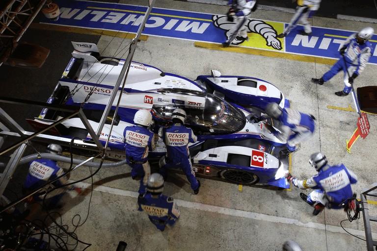 2013 Toyota TS030 Hybrid - Le Mans 24 Hours race 389945