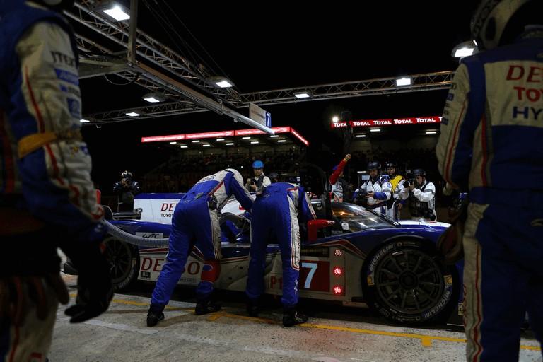 2013 Toyota TS030 Hybrid - Le Mans 24 Hours race 389953