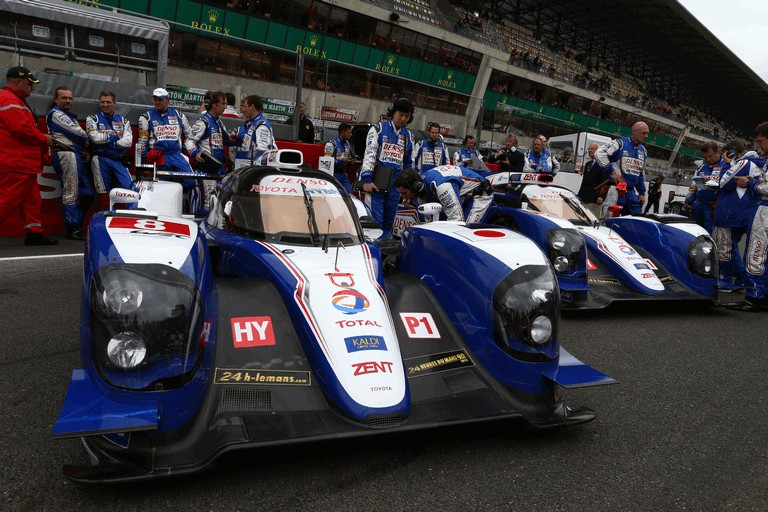 2013 Toyota TS030 Hybrid - Le Mans 24 Hours race 389966