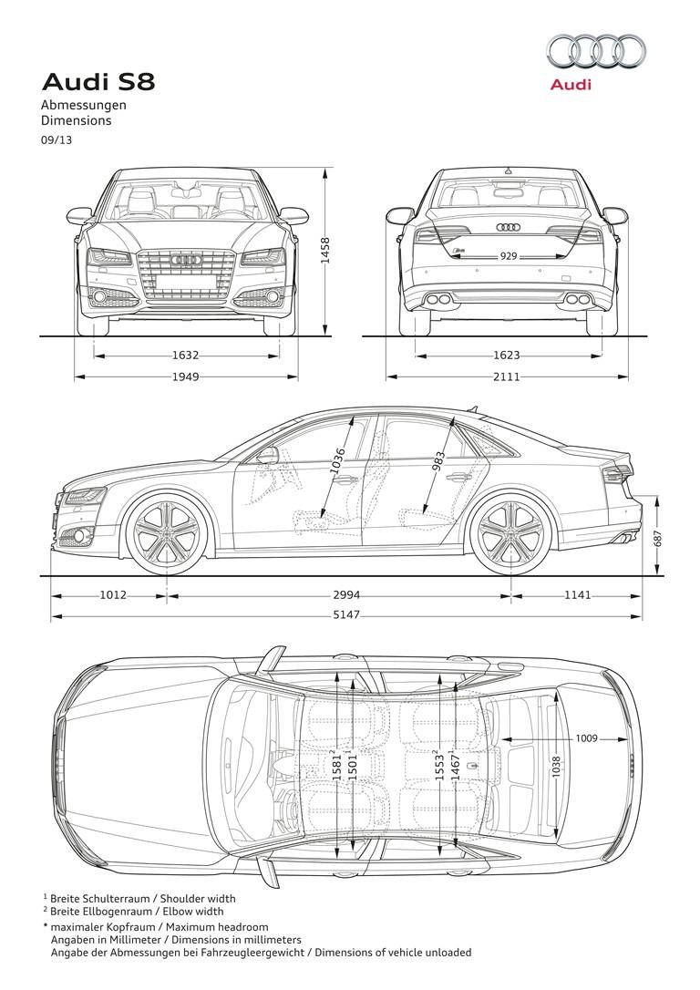 2013 Audi S8 ( D4 ) - USA version 394999