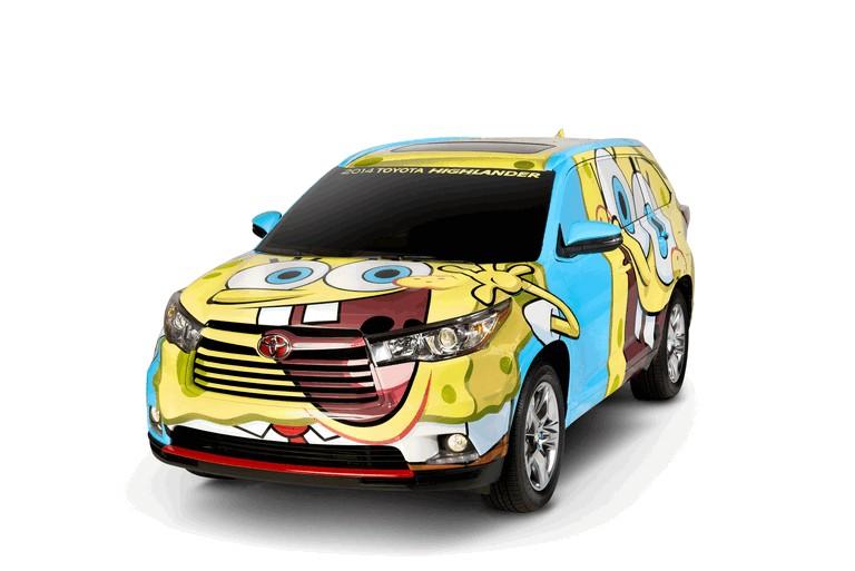 2014 Toyota Highlander Spongebob 395121