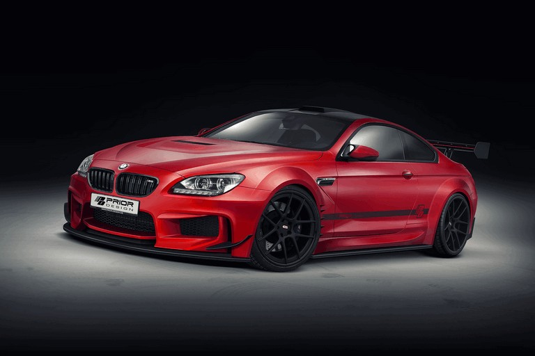 2013 BMW M6 ( F12 ) with PD6XX Widebody aerodynamic package by Prior Design 395725