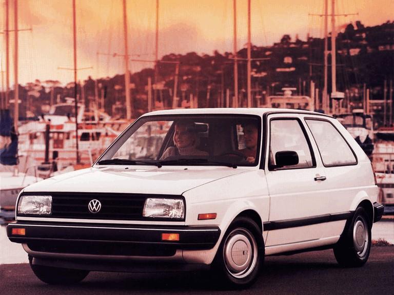 1987 Volkswagen Golf ( II ) 3-door - USA version 396734