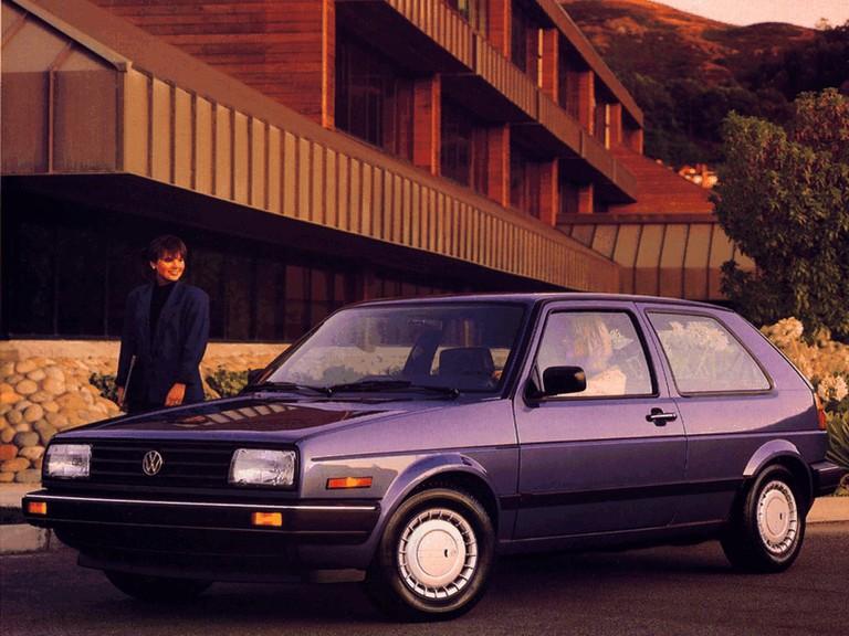 1987 Volkswagen Golf ( II ) 3-door - USA version 396735